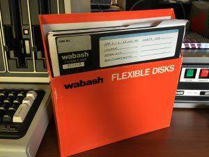 "Model II 8"" floppy disks"